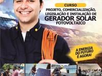 Curso sobre gerador solar fotovoltailco em Teresina